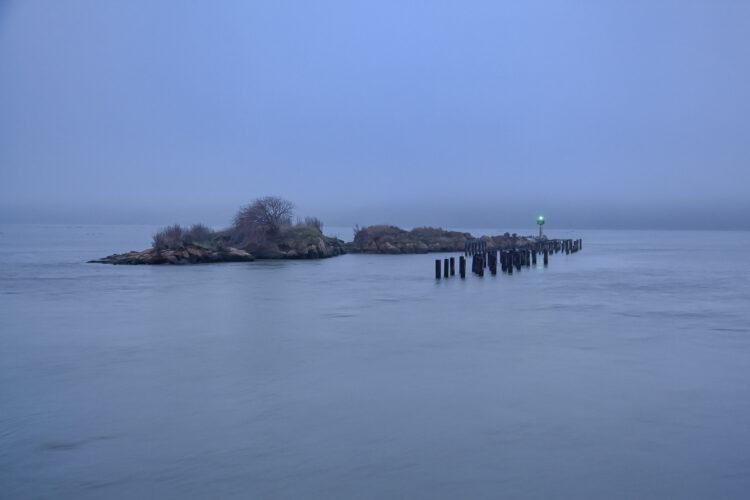 Fine art photography prints | Fog at Benicia Point California