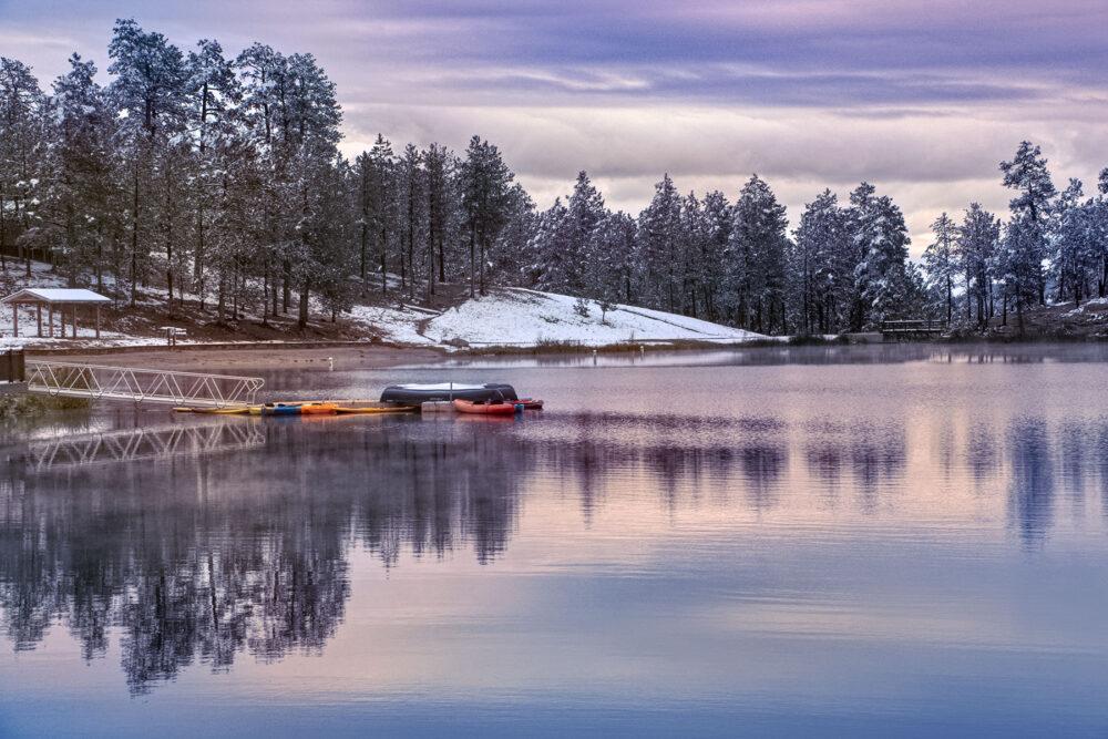 Fine art photography prints   Black Hills Custer State Park Kayaks