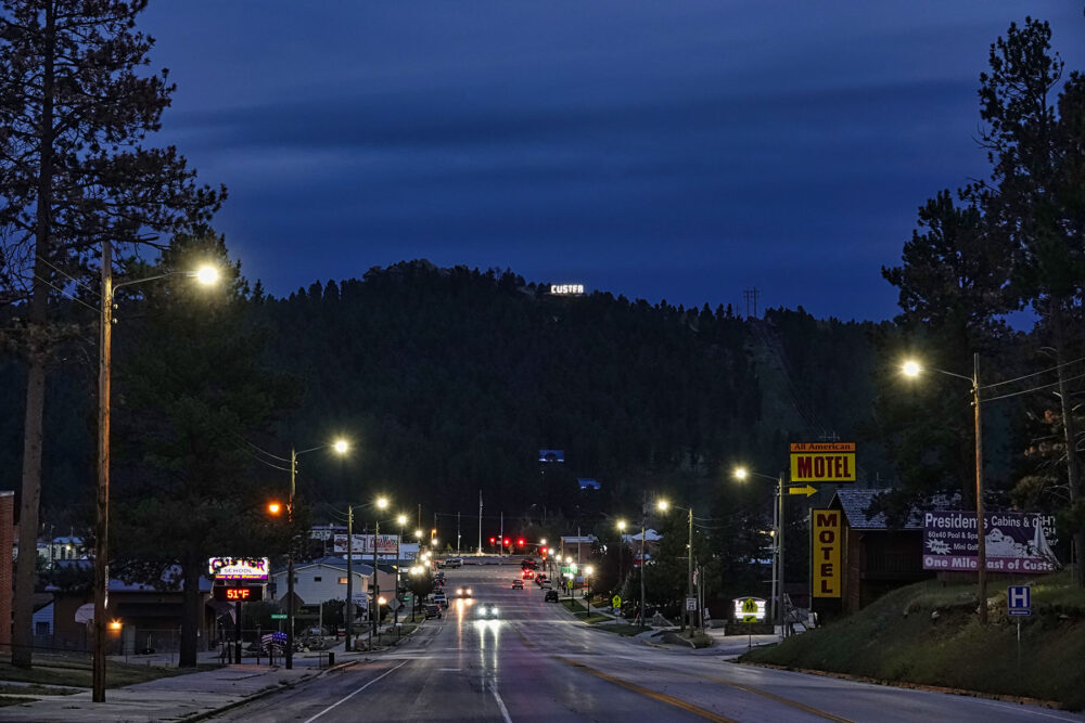 Fine art photography prints | Custer, South Dakota Nights