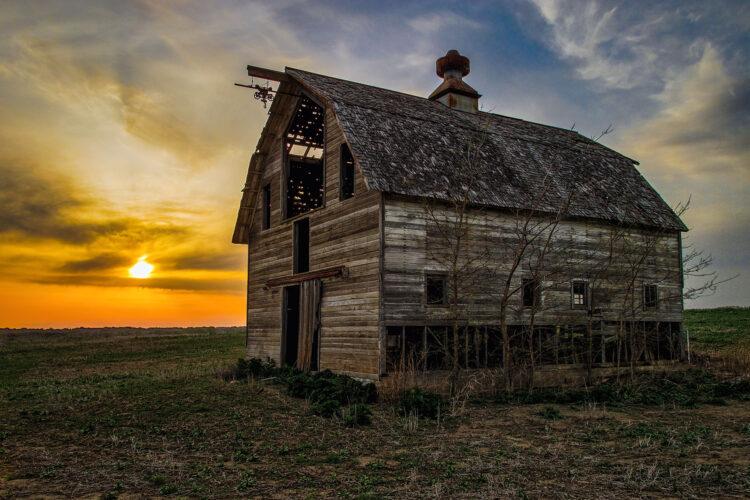 Fine art photography prints | Old Gretna Nebraska Barn
