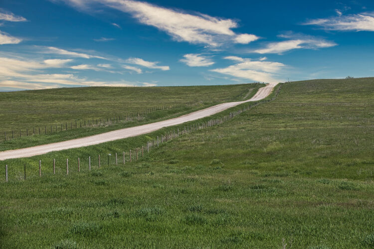 Fine art photography prints | Nebraska Sandhills Road