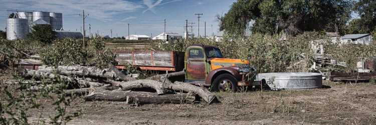Fine art photography prints | 1940s Chevy Truck Panoramic