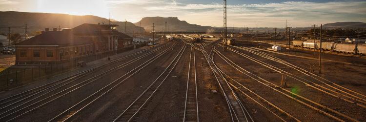 Fine art photography prints | Rail Depot Sunrise Panoramic