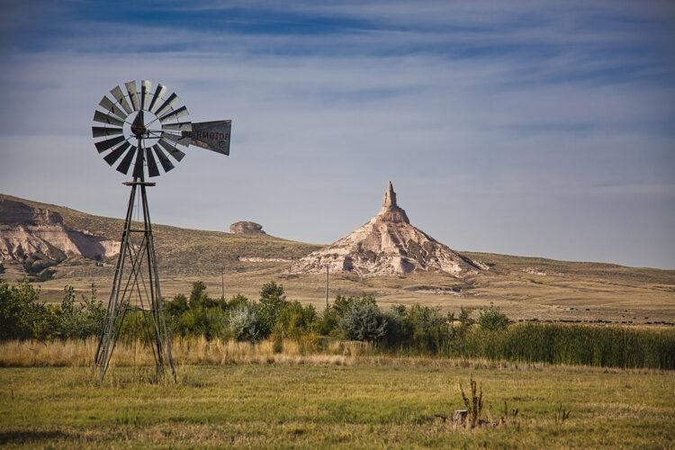 Fine art photography prints | Chimney Rock Windmill