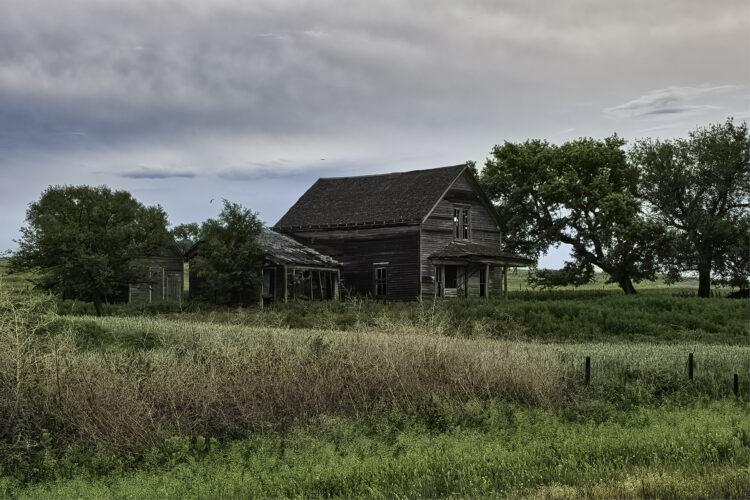 Fine art photography prints | Deserted Farmhouse