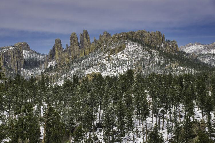 Fine art photography prints | Needles Early Snow