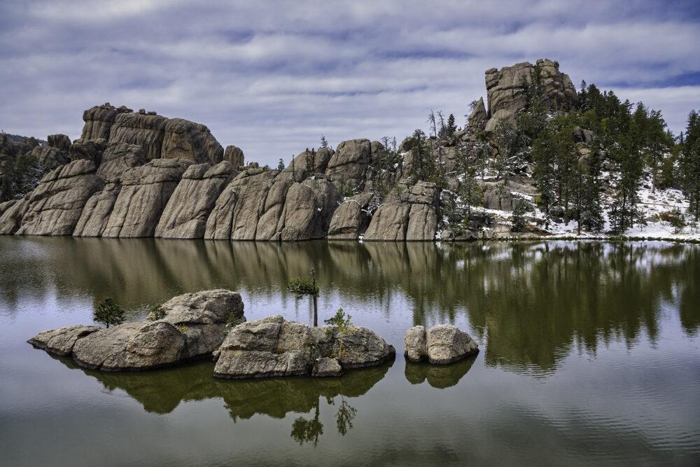 Fine art photography prints   Sylvan Lake Reflection