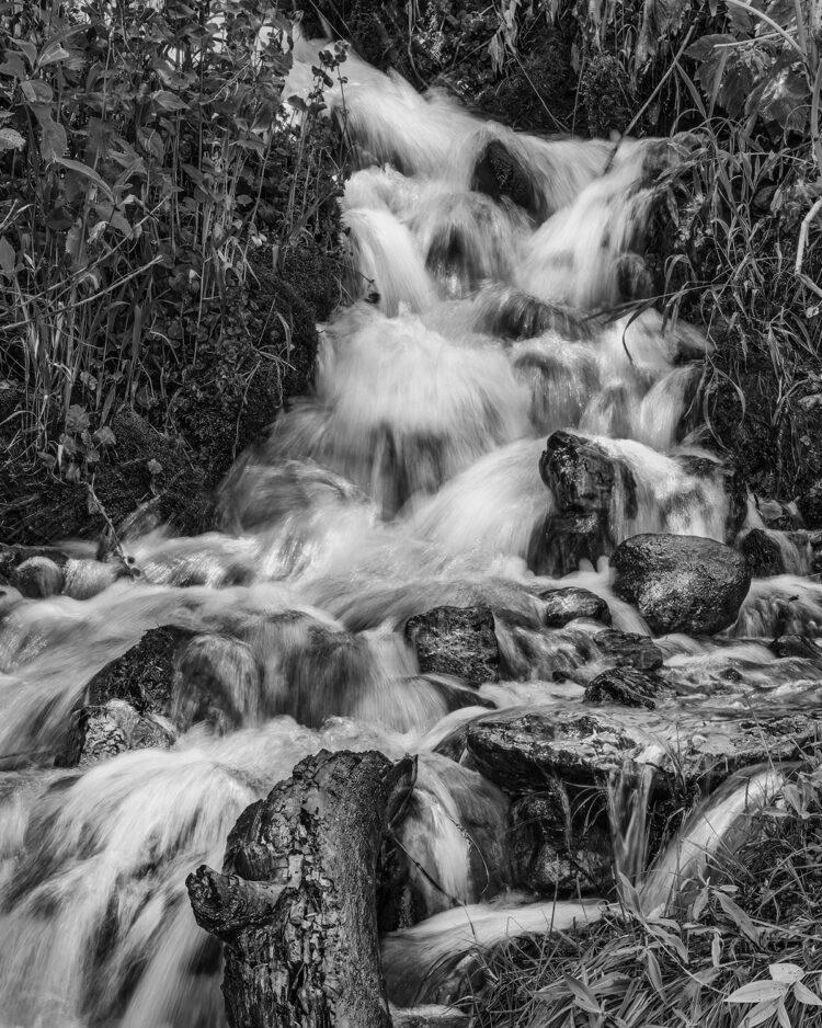 Fine art photography prints | Brush Creek Waterfall Silver